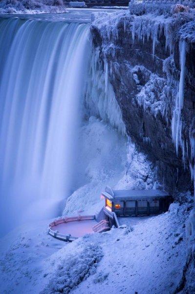 Niagara télen